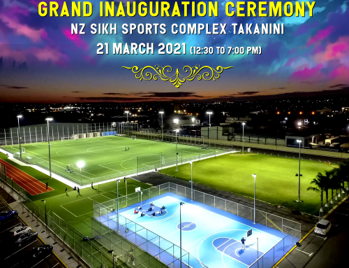 NZ Sikh Sports Complex Takanini Officially Opening Ceremony