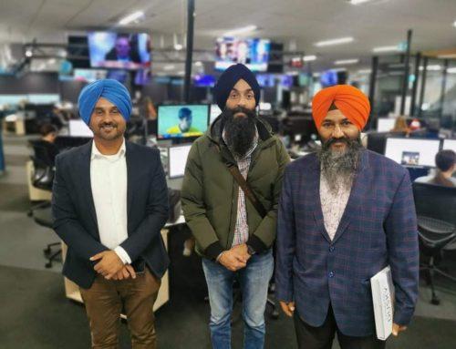 NZME invited Supreme Sikh Society to do a presentation on Sikhism to Senior reporters of NZ Herald, ZB Talk