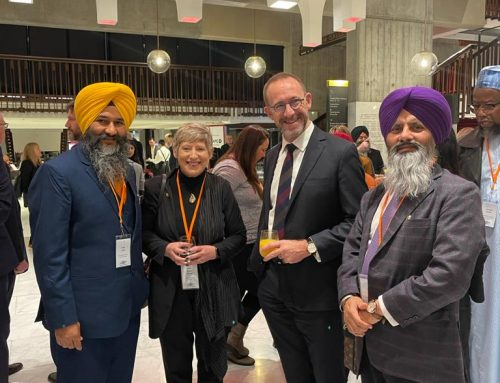 """Members of Supreme Sikh Society attended """"He Whenua Taurikura Hui"""" in Christchurch"""