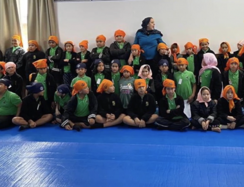 Primary school kids visited Takanini Gurdwara to know about Sikhism