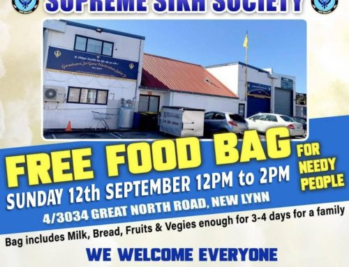Food Parcels Drive in New Lynn on 12 and 13 Sep 2021