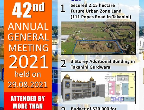 Three big projects approved for the community in 42nd AGM